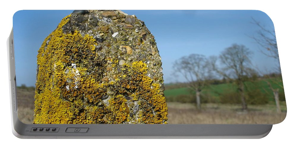 Landscape Portable Battery Charger featuring the photograph Ancient Stone by Susan Baker