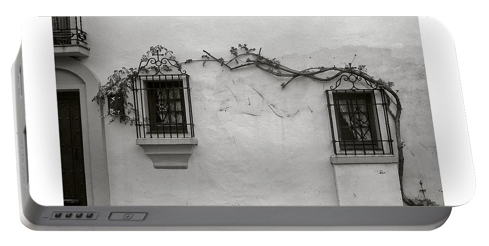 Andalucia Portable Battery Charger featuring the photograph Andalucia Wall by Thomas Marchessault