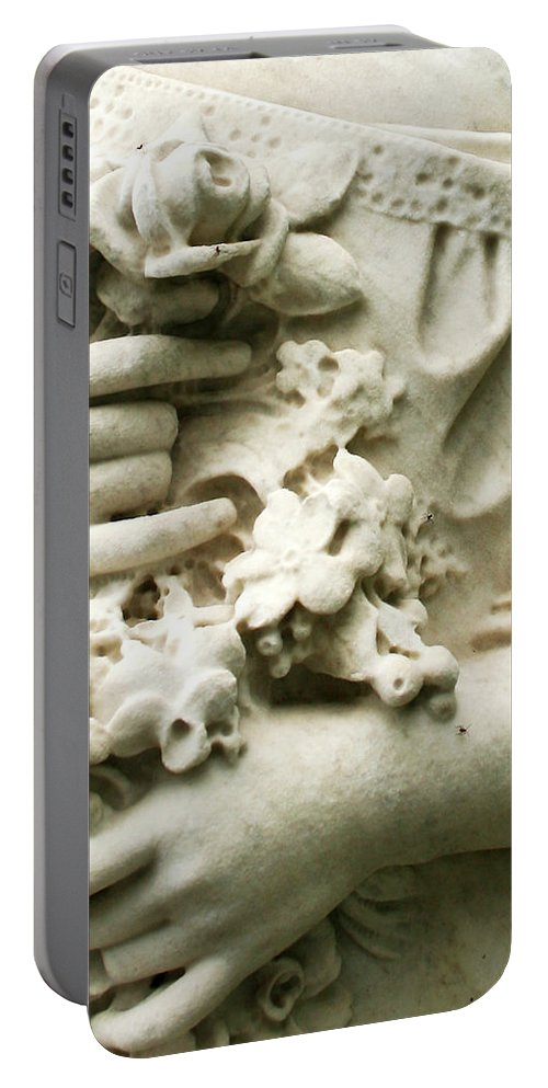 Angel Photography Portable Battery Charger featuring the photograph Angel Series by Jennifer Martin
