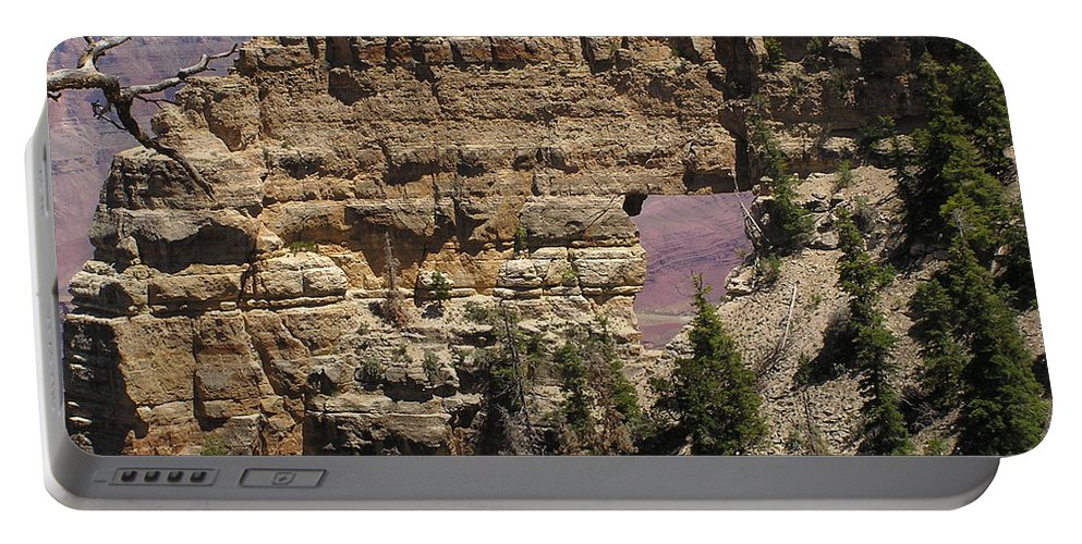 Grand Canyon Portable Battery Charger featuring the photograph Angel by Louise Magno