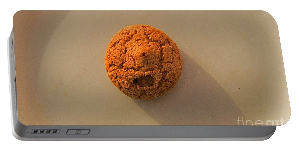 Amaretti Biscuit Portable Battery Charger featuring the photograph Anguish by Simon Kennedy