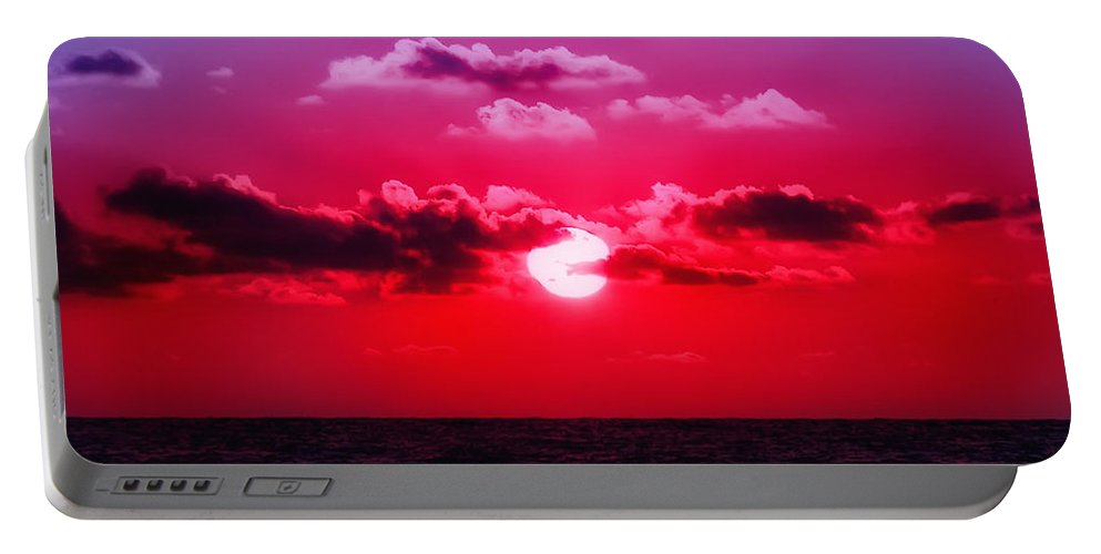 Sunset Portable Battery Charger featuring the photograph Another Day Another Sunset by Bill Cannon