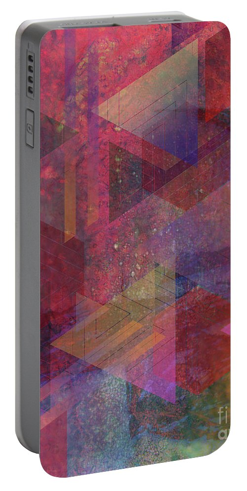 Another Place Portable Battery Charger featuring the digital art Another Place by John Beck