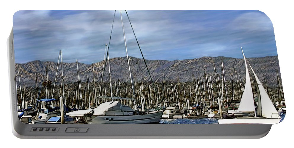 Ocean Portable Battery Charger featuring the photograph Another Sunny Day by Kurt Van Wagner