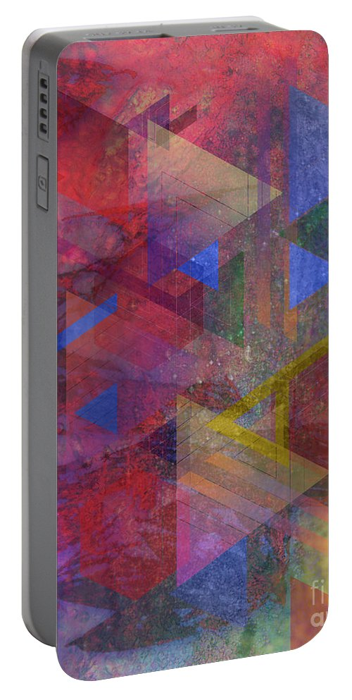 Another Time Portable Battery Charger featuring the digital art Another Time by John Beck