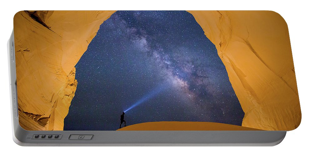 Southwest Portable Battery Charger featuring the photograph Another World by Brian Lorrigan