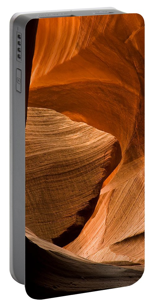 3scape Photos Portable Battery Charger featuring the photograph Antelope Canyon No 3 by Adam Romanowicz