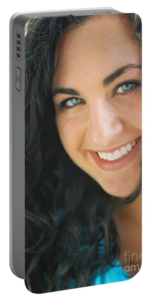 Girl Portable Battery Charger featuring the photograph Anticipation by Nadine Rippelmeyer