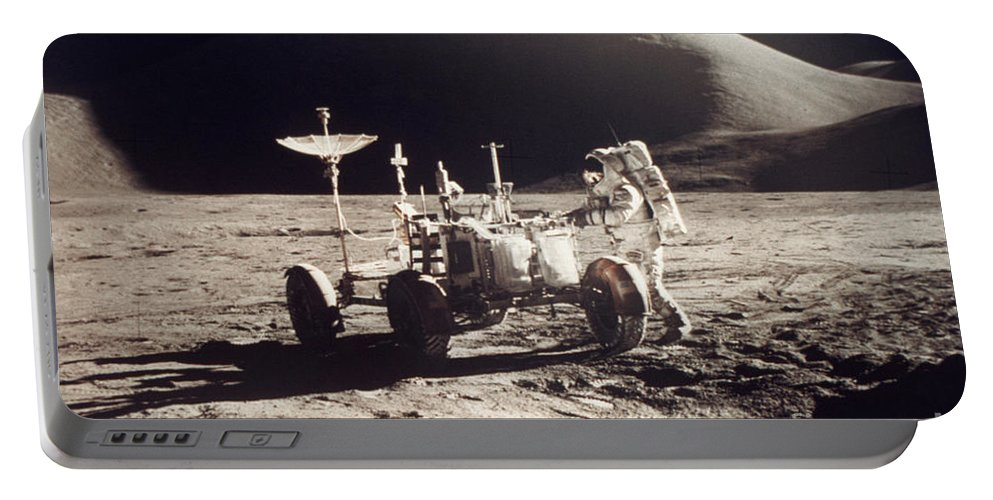 1971 Portable Battery Charger featuring the photograph Apollo 15, 1971 by Granger