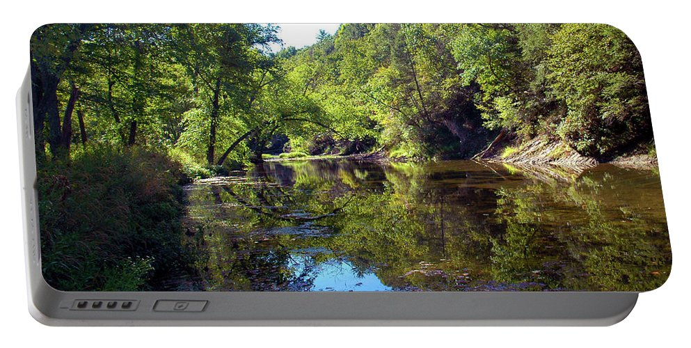 Appalachians Portable Battery Charger featuring the photograph Appalachian Mirror II by Broken Soldier