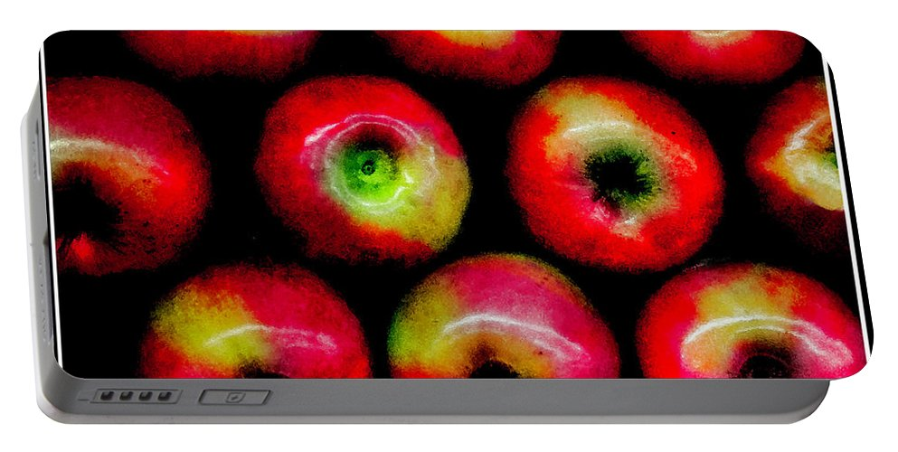 Apples Portable Battery Charger featuring the photograph Apples by Madeline Ellis