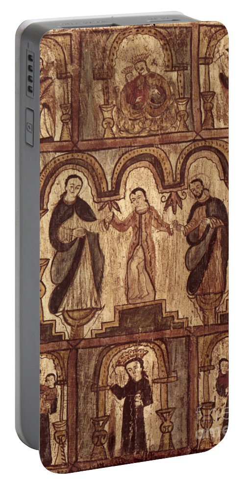 1820s Portable Battery Charger featuring the photograph Aragon: Jesus & Disciples by Granger