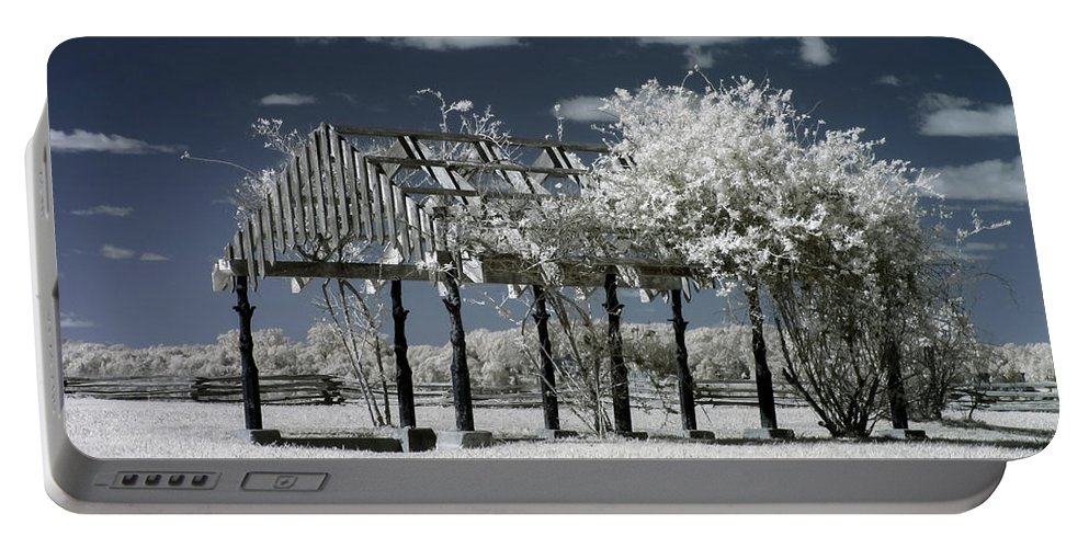 Arbor Portable Battery Charger featuring the photograph Arbor In Petersburg National Battlefield by Liza Eckardt