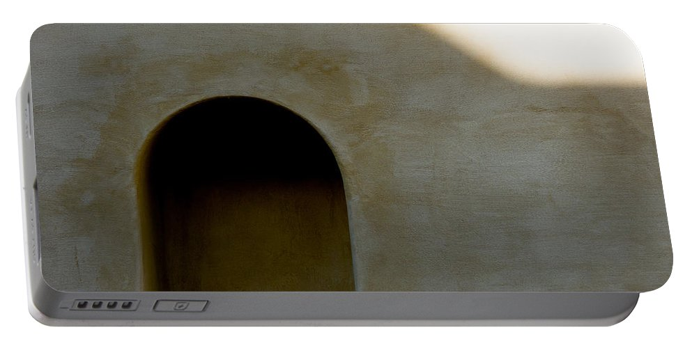 Shadow Portable Battery Charger featuring the photograph Arch In Shadow by Dave Bowman