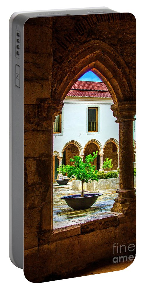 Arch Portable Battery Charger featuring the photograph Arched View by Roberta Bragan