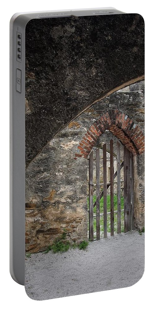 Arched Portable Battery Charger featuring the photograph Arched Way by Buck Buchanan