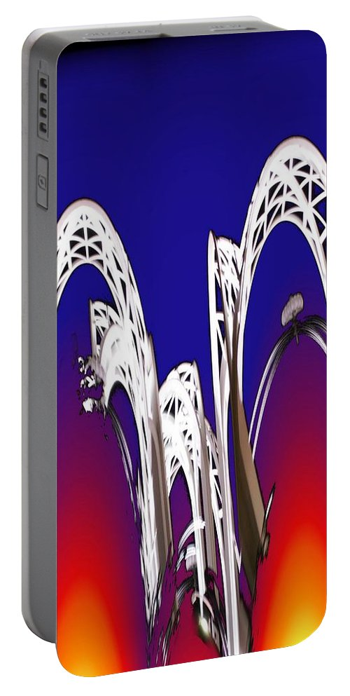 Seattle Portable Battery Charger featuring the photograph Arches 8 by Tim Allen