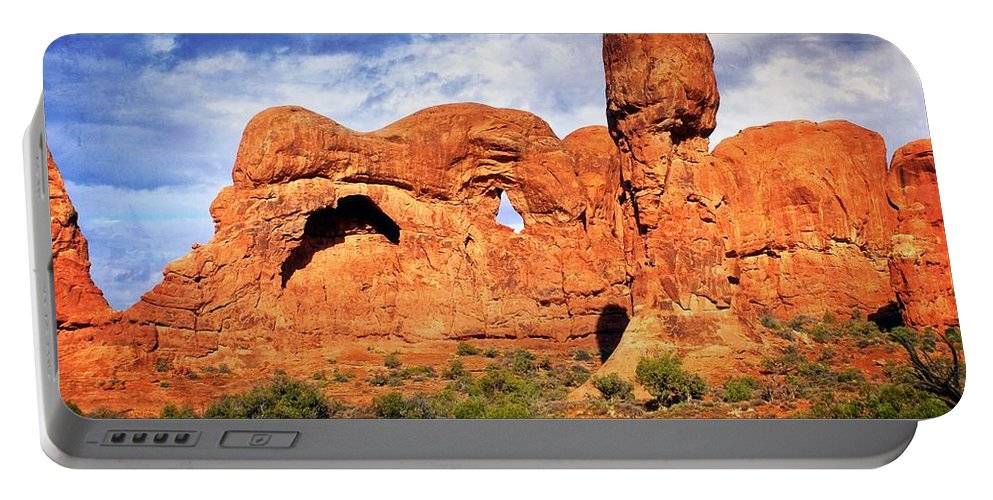 Arches National Park Portable Battery Charger featuring the photograph Arches Landscape 3 by Marty Koch