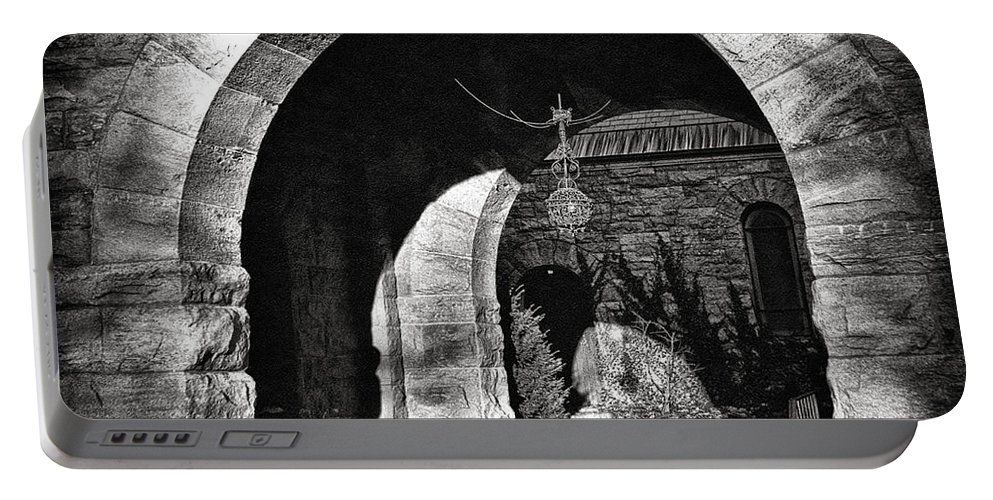 Arches Portable Battery Charger featuring the photograph Arches by Madeline Ellis
