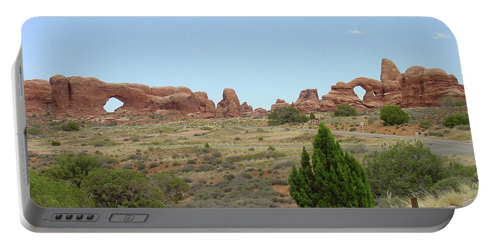 Arches National Park Portable Battery Charger featuring the photograph Arches National Park 21 by Dawn Amber Hood