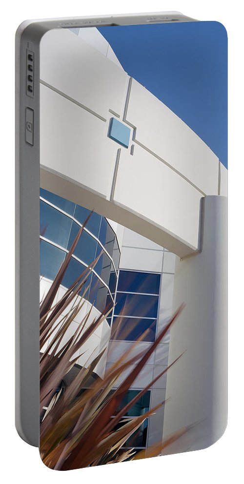 Architecture Portable Battery Charger featuring the photograph Architectural Detail One by Kelley King