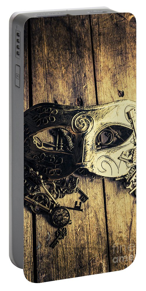 Old Portable Battery Charger featuring the photograph Aristocratic Social Affairs by Jorgo Photography - Wall Art Gallery