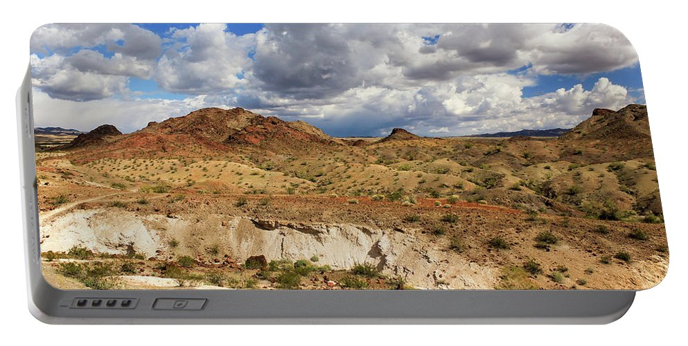 Landscape Portable Battery Charger featuring the photograph Arizona Cliffs by James Eddy