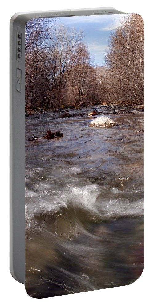 Creek Portable Battery Charger featuring the photograph Arizona Creek by Scott Sawyer
