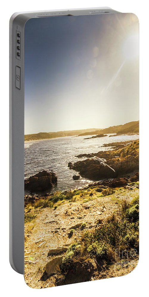 Arthur River Portable Battery Charger featuring the photograph Arthur River Tasmania by Jorgo Photography - Wall Art Gallery