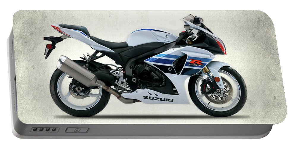 Suzuki Gsx R1000 Portable Battery Charger featuring the photograph The Gsx-r1000 by Mark Rogan