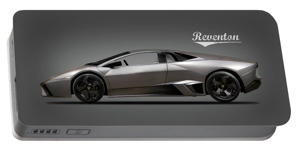 Lamborghini Reventon Portable Battery Charger featuring the photograph Lamborghini Reventon by Mark Rogan