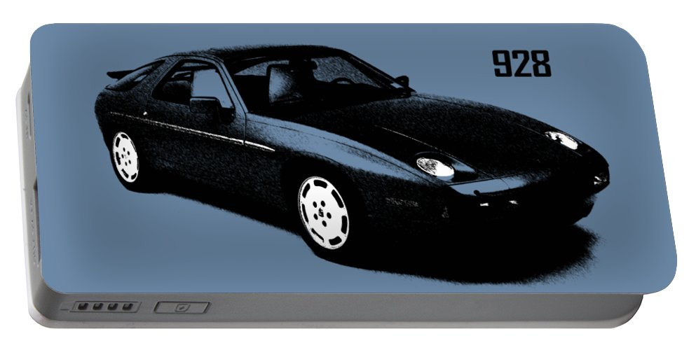 Porsche 928 Portable Battery Charger featuring the photograph 928 by Mark Rogan