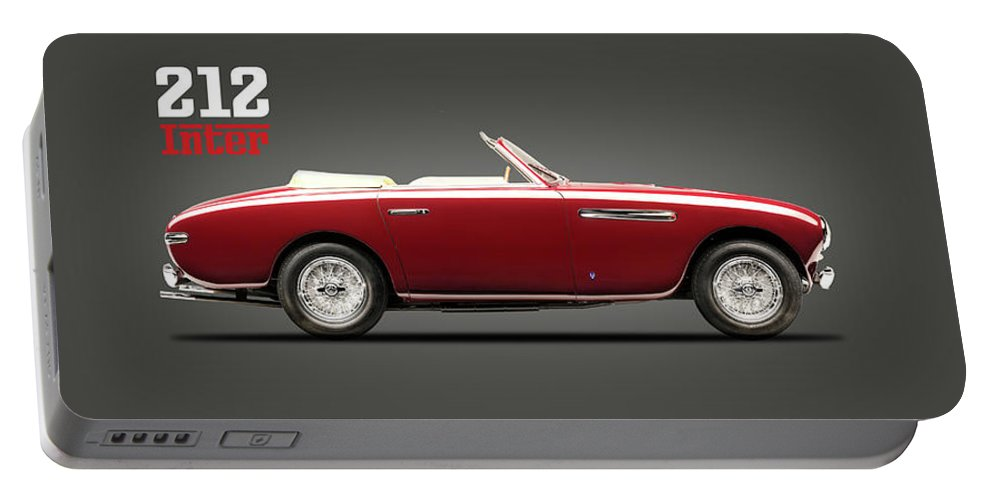 Ferrari 212 Portable Battery Charger featuring the photograph The Ferrari 212 by Mark Rogan