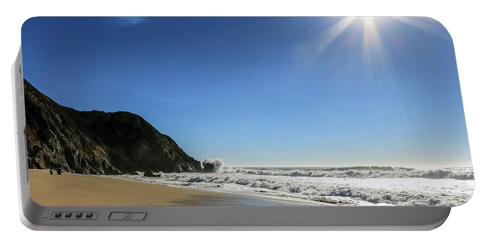 Sun Portable Battery Charger featuring the photograph Sunny Days  by Crystal Alatorre