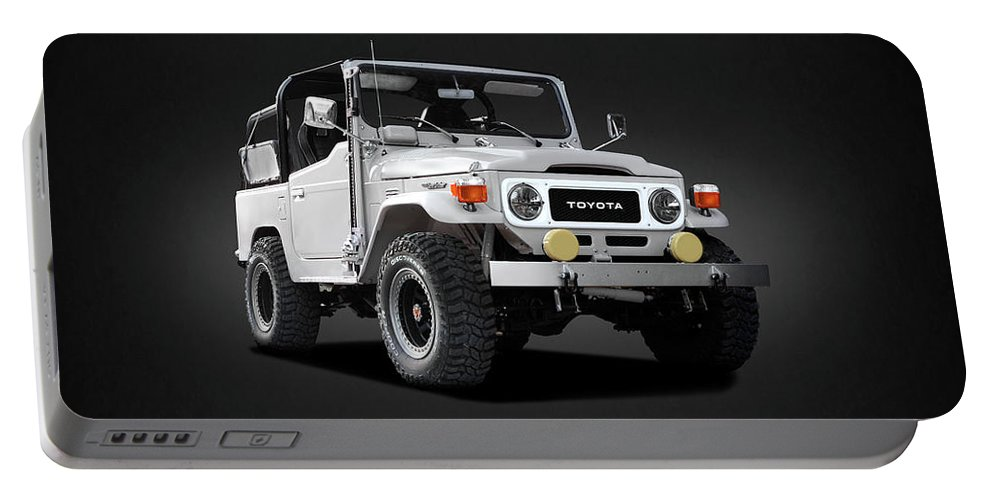 Land Cruiser Bj40 Portable Battery Charger featuring the photograph The Land Cruiser by Mark Rogan
