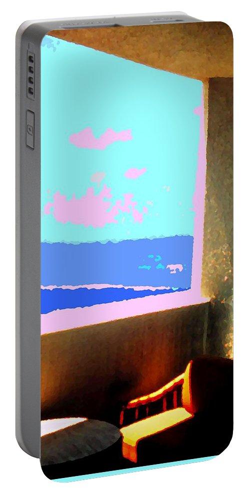Aruba Portable Battery Charger featuring the photograph Aruba by Ian MacDonald