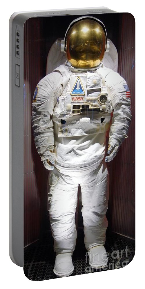 Astronaut Portable Battery Charger featuring the photograph Astronaut by Anthony Schafer