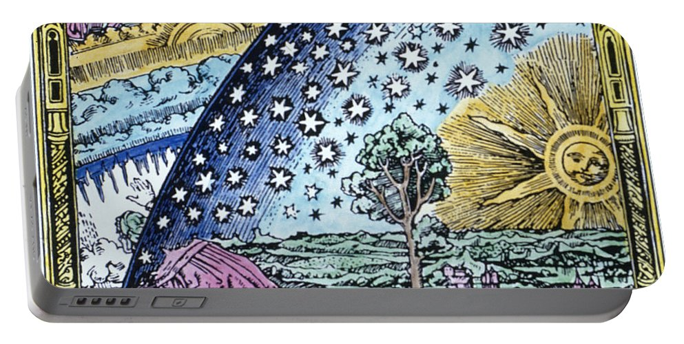 1530 Portable Battery Charger featuring the photograph Astronomer, 1530 by Granger