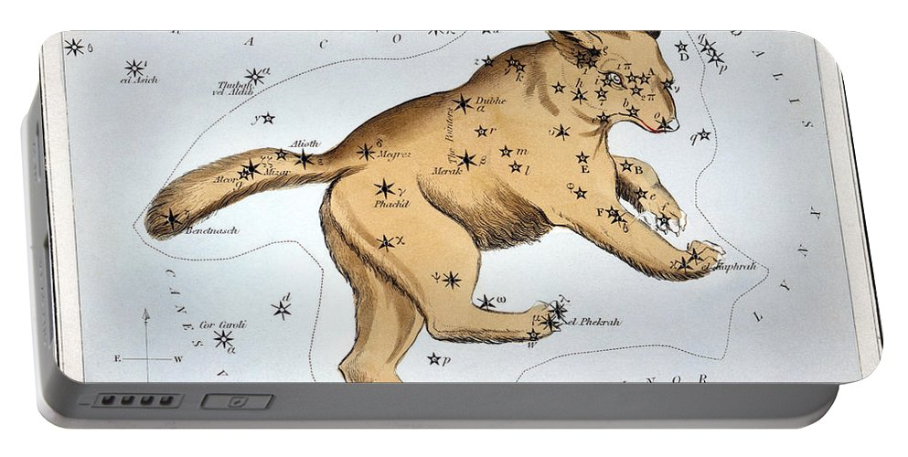 1825 Portable Battery Charger featuring the photograph Astronomy: Ursa Major by Granger