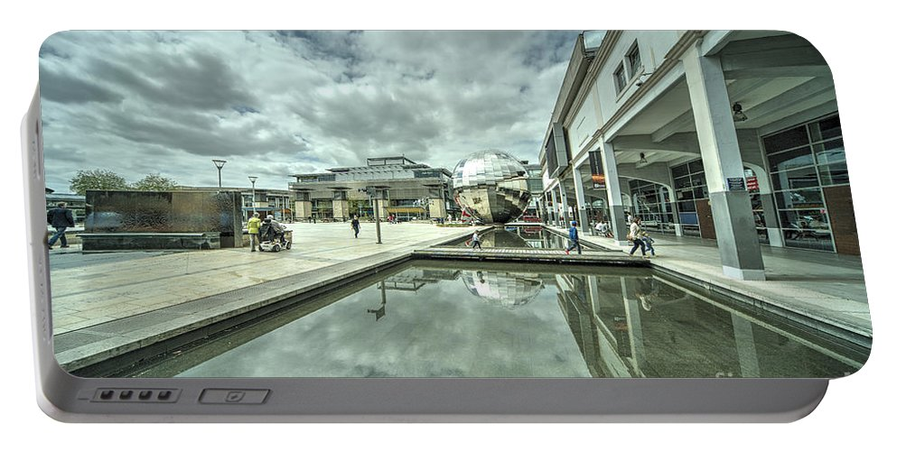 Bristol Portable Battery Charger featuring the photograph at Bristol by Rob Hawkins