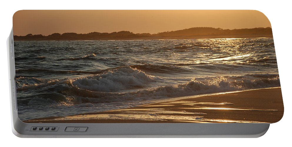 Cape May Portable Battery Charger featuring the photograph At The Golden Hour by Richard Bryce and Family