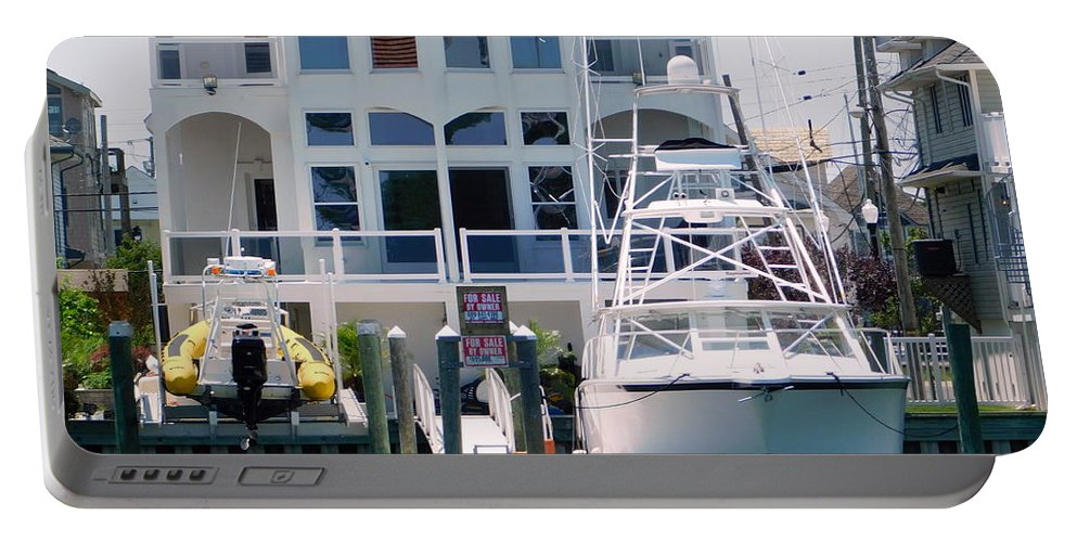 Brigantine Island Portable Battery Charger featuring the photograph Atlantic City Series -13 by Arlane Crump