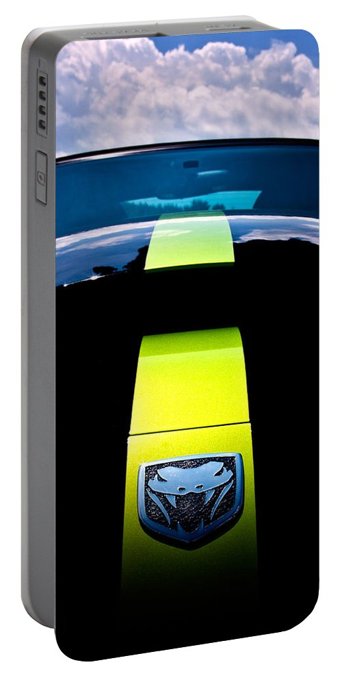 Dodge Portable Battery Charger featuring the photograph Attack Of The Viper by Scott Wyatt