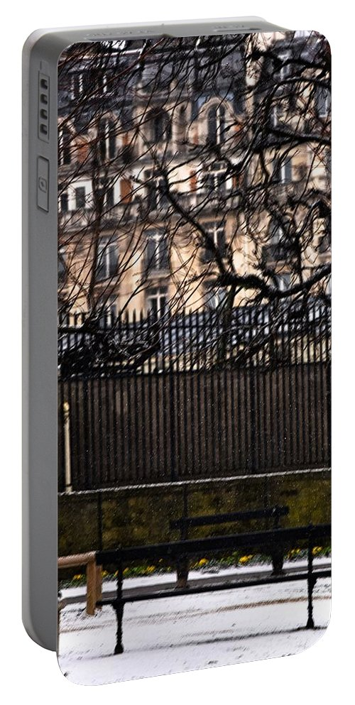 France Portable Battery Charger featuring the photograph Au Jardin Du Luxembourg by Valerie Dauce