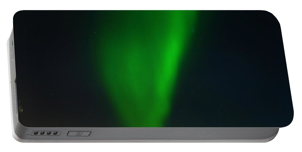 Aurora Borealis Portable Battery Charger featuring the photograph Aurora Borealis by Anthony Jones