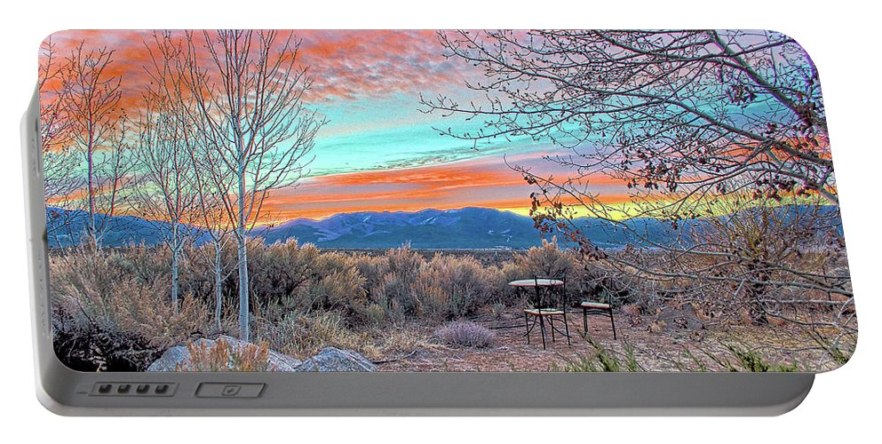 Aurora Portable Battery Charger featuring the photograph Aurora En El Prado by Charles Muhle