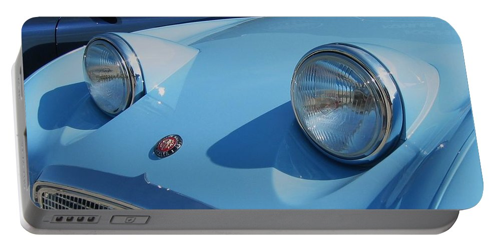 Austin Healy Portable Battery Charger featuring the photograph Austin Healy Sprite by Neil Zimmerman