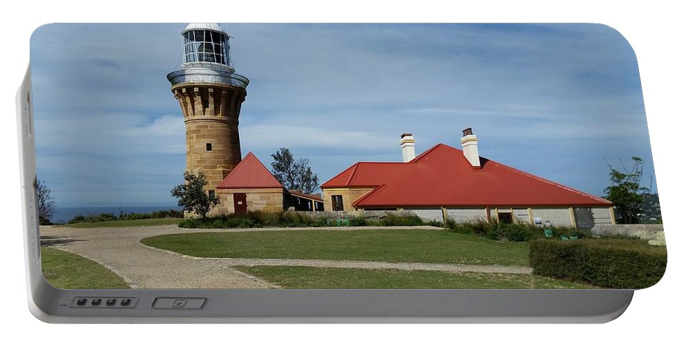 Australia Portable Battery Charger featuring the photograph Australia - Barrenjoey Lighthouse by Jeffrey Shaw