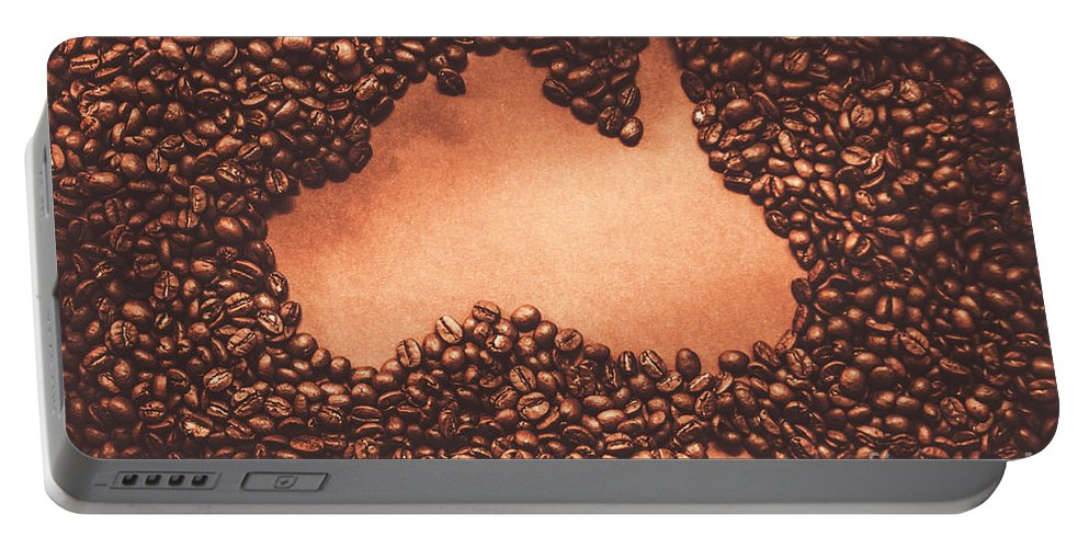 Australian Portable Battery Charger featuring the photograph Australian Made Coffee by Jorgo Photography - Wall Art Gallery