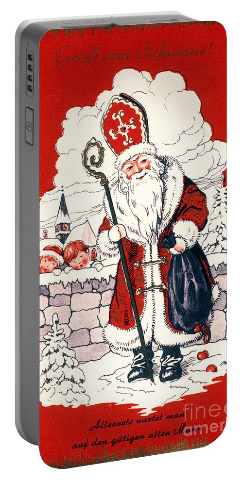 19th Century Portable Battery Charger featuring the photograph Austrian Christmas Card by Granger